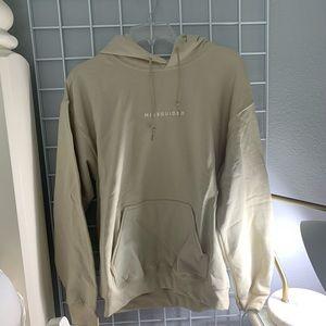 NWT beige missguided hoodie
